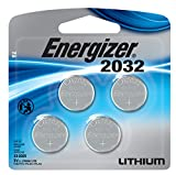 #4: Energizer Watch/Electronic/Specialty Battery, 2032, 3V, 4/Pack (2032BP4)