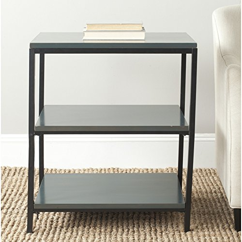 Safavieh American Homes Collection Zeke Steel Teal Shelf Unit