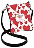 Cute Squirrel Couple Cross Body Bag - Regular (Personalized)