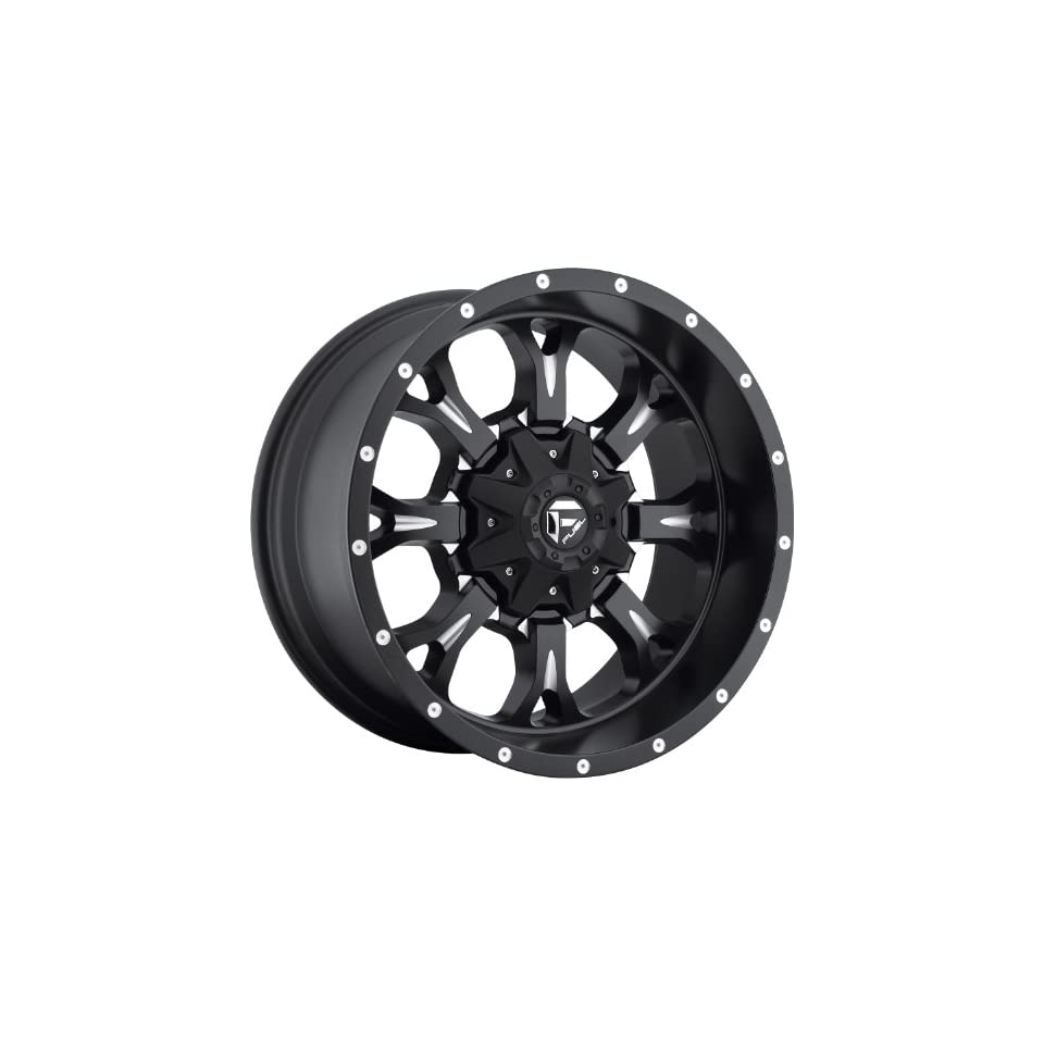Fuel Krank 22 Black Wheel / Rim 5x5.0 & JEEPS with a  24mm Offset and a 72.6 Hub Bore. Partnumber D51722112650