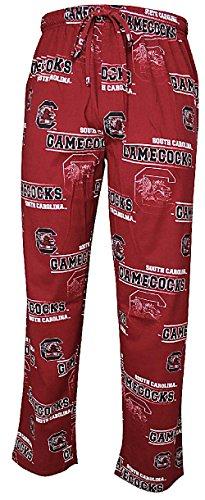 NCAA South Carolina Gamecocks Mens Cardinal Fusion Pajama