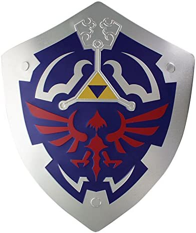 Legends of Zelda Hylian Shield Metal Wall Art