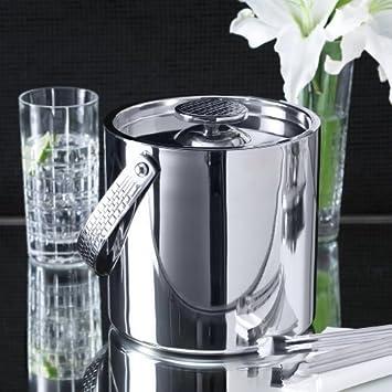 Lauren Ralph Lauren Barware, Watchband Bar Ice Bucket With Tongs