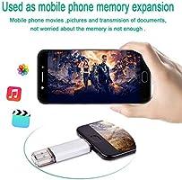 RAOYI 128GB Memoria Flash USB 3.0 Tipo C Dual OTG Flash Drive USB C Pendrive 128 GB Memory Stick para Smartphones USB-C, Tablets MacBook, Samsung Galaxy S9, LG G6, V30, Google Pixel