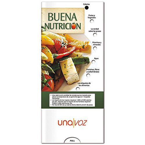 BIC Graphic Pocket Slider: Good Nutrition (Spanish) White 500 Pack