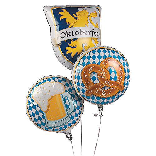 Oktoberfest Mylar Balloons for $<!--$8.56-->