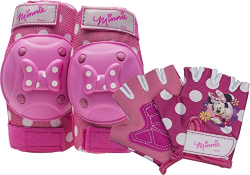 Bell Minnie Mouse Protective Gear with Elbow Pads/Knee Pads & Gloves]()