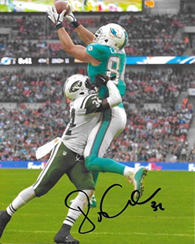 Jordan Cameron, Miami Dolphins, Signed, Autographed, 8x10 Photo, a COA with the Proof Photo of Jordan Signing Will Be Included. (Brown Jordan Miami)