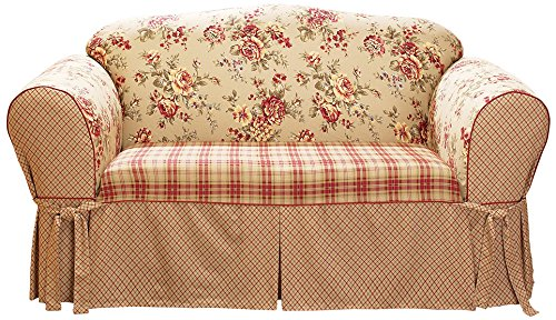 SureFit Lexington - Loveseat Slipcover - Multi (Loveseats Style Country)