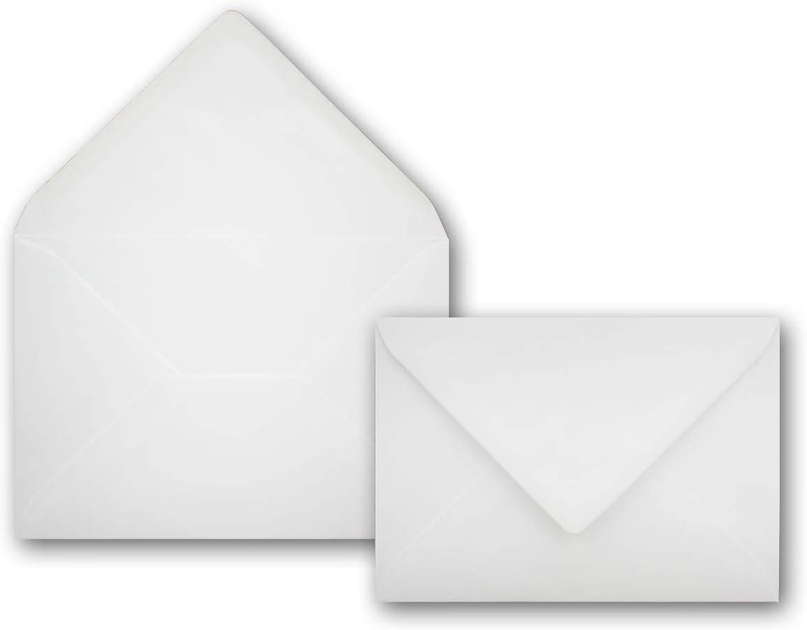 DIN A6 Faltkarten 14,8 x 21 cm 100 g//m/² Nassklebung 25 Kartenset mit Umschl/ägen Orange 160 g//m/² - DIN C6 Briefumschl/äge 11,4 x 16,2 cm Colours-4-you