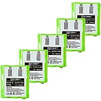 Motorola MU350R 2-Way Radio Battery Combo-Pack includes: 5 x SD2W-H1004 Batteries