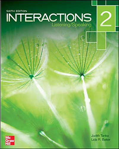 Interactions 2:Listen./Speak. W/Access