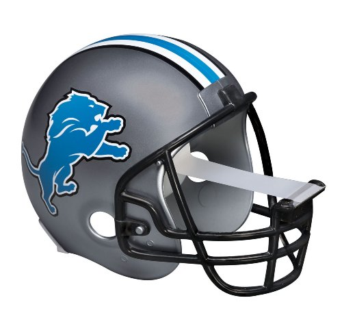 Scotch Magic Tape Dispenser, Detroit Lions Football Helmet with 1 Roll of 3/4 x 350 Inches Tape