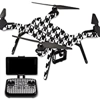 Skin For 3DR Solo Drone – Houndstooth | MightySkins Protective, Durable, and Unique Vinyl Decal wrap cover | Easy To Apply, Remove, and Change Styles | Made in the USA