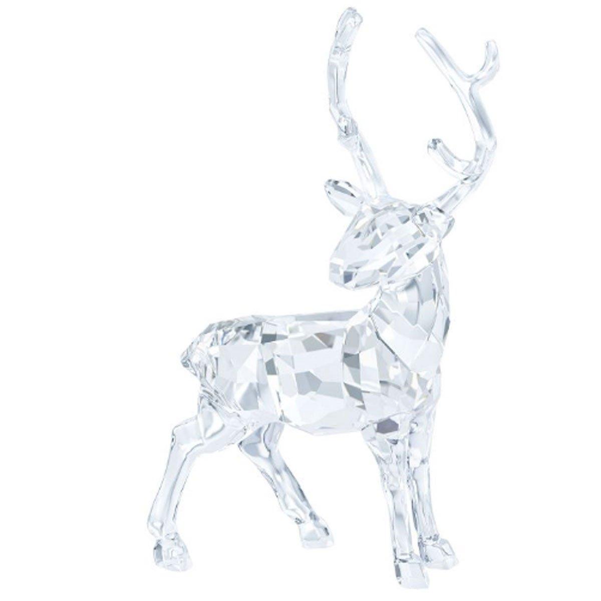 Swarovski Crystal Reindeer Stag Figurine