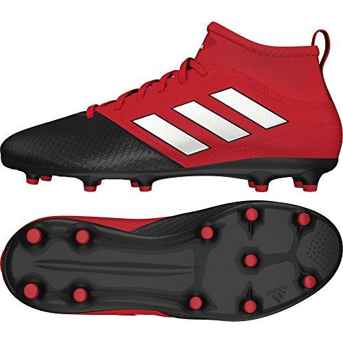 pretty nice 0fcac 98a91 3 Unisex rojo Zapatos J Fg Ace Niños Para Adidas Fútbol 17 Competencia  Negro wHXxa