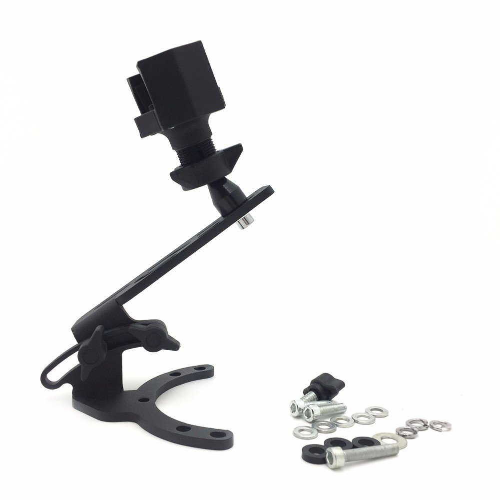 Motorcycle Camera/ GPS /Cell Phone/ Radar Tank Mount With Holder For Kawasaki Motorcycles - All years with traditional gas caps by HTT