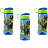 Zak Designs [3-Pack Paw Patrol 16.5oz Kids Sullivan Sports Water Bottle, BPA-Free