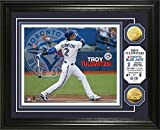 "MLB Troy Tulowitzki ""Toronto Blue Jays"" Gold Coin Photo Mint"