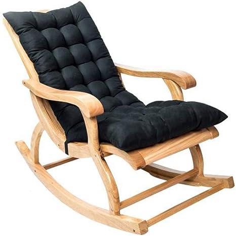 basku Cuscini per Sdraio da Giardino 120 * 50 * 12cm Cuscino Prendisole Cuscino per Esterno da Giardino Cuscino per sedie a Sdraio Cuscino Imbottito per Sedia reclinabile con Cinghie