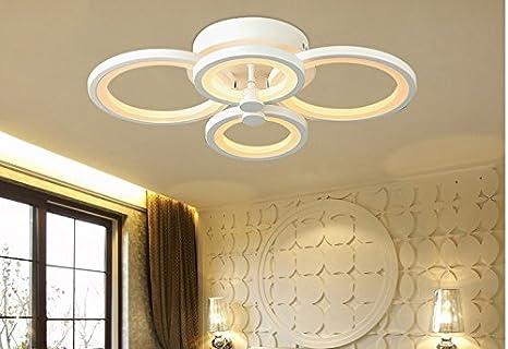 Moderne Lampen 66 : Hao stilvolle moderne minimalistische acryl decke wohnzimmer