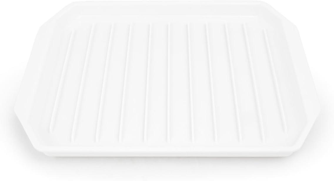 Fox Run 6574 Microwave Bacon Rack/Cooker, 8 x 9.75 x 0.5 inches, White