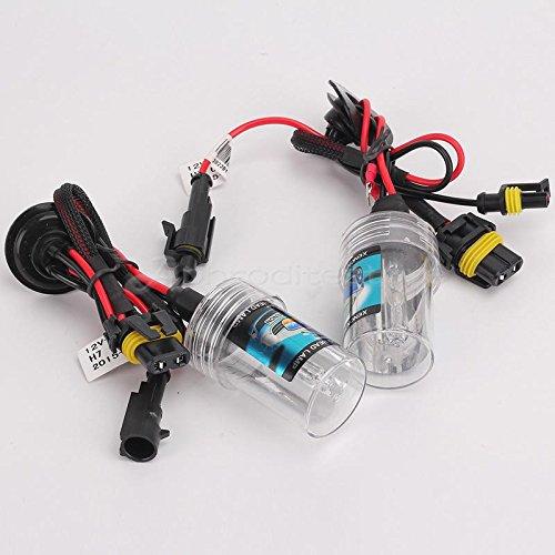 takestop COPPIA LAMPADA H7 6000K PER KIT XENON XENO con cavi cavo cablaggio BULBI RICAMBIO LUCE HID LAMPADINA PER AUTO CAMPER MOON 1001828