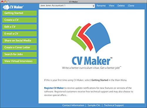 Cv maker for mac download import it all for Cv maker software free download