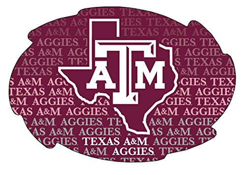 (TEXAS A&M AGGIES REPEATING DESIGN SWIRL MAGNET-TEXAS A&M MAGNET-NEW FOR 2016! )