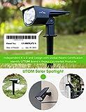 LITOM 12 LED Solar Landscape Spotlights, IP67