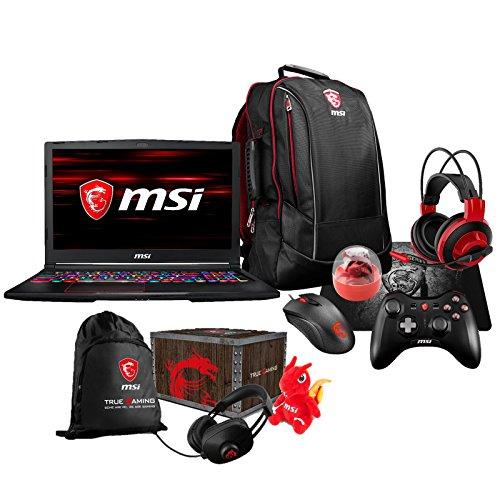 MSI GE63 Raider RGB-011 Enthusiast (i7-8750H, 16GB RAM, 500GB NVMe SSD + 1TB HDD, NVIDIA GTX 1060 6GB, 15.6