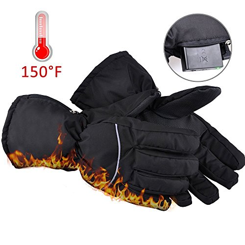 Winter Warm Heated Gloves For Men And Women, Battery Operated Electric Gloves With Motion Battery Operated Box For Travel, Hiking,Rock Climbing,Skiing,Cycling, Hunting, Outdoor Sports