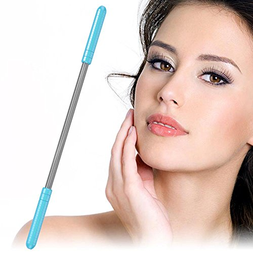 Facial Hair Epilator - Facial Hair Remover With Eyebrow Razor - Lasting Unwanted Hair Removal Tool for Women - Remove Unwanted Face Hair Without The Use of Tweezers, Laser or Wax (2)
