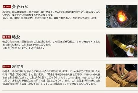 Platinum Maki-E acrobática Kanazawa goldfish impresión fina lámina (F)PTL-15000H #24-2 (importado de Japón): Amazon.es: Oficina y papelería