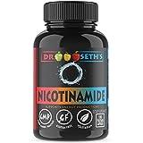 Cheap Nicotinamide 500 mg 100 Niacinamide Veggie Capsules – Vitamin B3 – Flush Free Niacin Formula – Support Energy Production, Metabolism, Niacinimide – Gluten Free – Vegetarian – Non GMO-GMP- By Dr. Seth