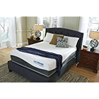 Ashley Furniture Signature Design - Sierra Sleep - Mygel Hybrid 1300 Mattress - Traditional Inner Spring Queen Size Mattress - White