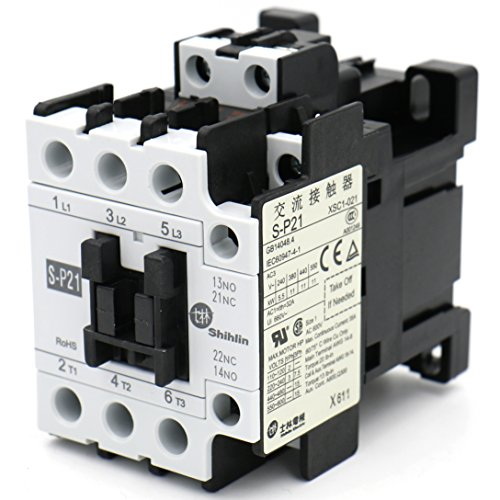 Baomain Magnetic Contactor S-P21 Coil: 220V 50-60Hz CE UL & CSA VDE (220 Coil)