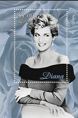 Liberia Sheet (Collectable Stamps - Princess Diana - Princess of Wales MNH Single Stamp Sheet / Liberia /)