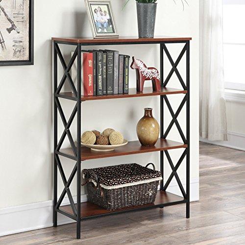 Tucson 4-Tier Bookcase + Expert Guide (Tucson Stores Furniture)
