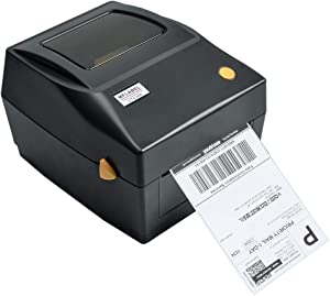 MFLABEL Label Printer, 4x6 Thermal Printer, Commercial Direct Thermal High Speed USB Port Label Maker Machine, Etsy, Ebay, Amazon Barcode Express Label Printing