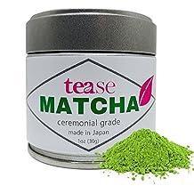 Organic Ceremonial Grade Japanese Matcha (Weightloss, Antioxidant, & Natural Caffeine Energy Boost Tea), 1oz, 30g …