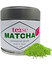 Organic Ceremonial Grade Japanese Matcha (Antioxidant & Natural Caffeine Energy Boost Tea), 1oz, 30g