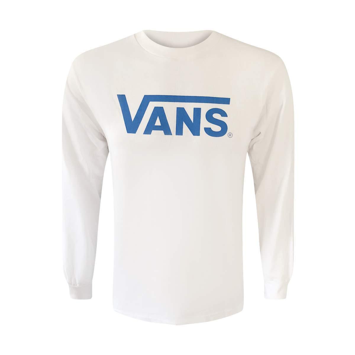0864f4e8 Vans Boys Long-Sleeve Classic Logo T-Shirt Tee