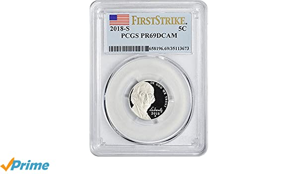 2001-S PCGS PR69DCAM Jefferson Nickel