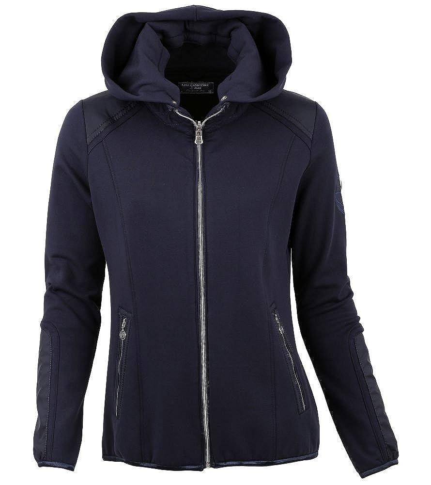 Sweatjacket//Hoode mit Kapuze von Lisa Campione