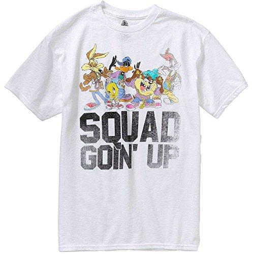 Bugs Bunny Daffy Duck Tasmanian Devil Wile E. Coyote T-Shirt For Men (L)