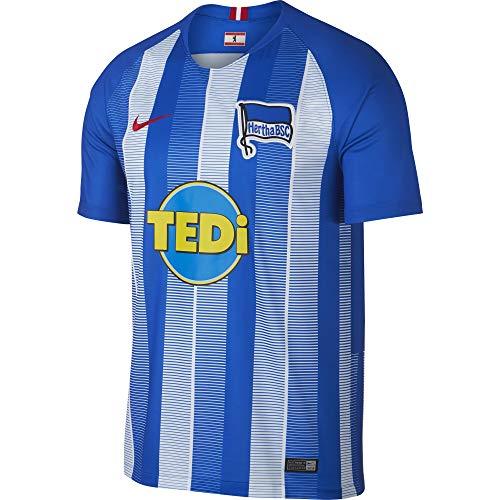 NIKE 2018-2019 Hertha Berlin Home Football Shirt