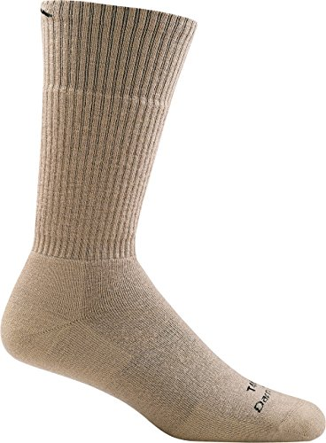 Darn Tough Tactical Boot Full Cushion Socks ( T4022 ) Unisex – (Desert Tan, Medium)