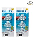 Philips 415802 Landscape and Indoor Flood 50-Watt MR16 12-Volt Light Bulb, 3-Pack x 2