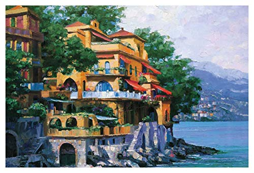 Howard Behrens - Portofino VIlla 47 x 32 - Howard Behrens Villa